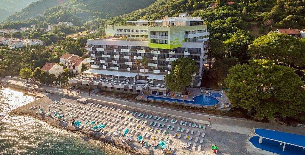 Profitez de la plage privée de votre hôtel
