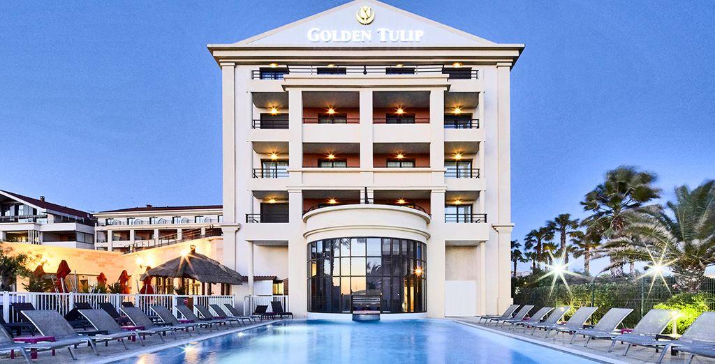 L'hôtel Golden Tulip Villa Massalia 4*