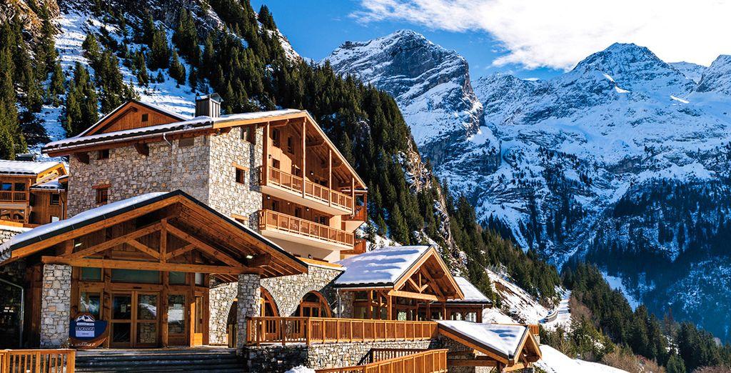 Venez vous détendre en Savoie, aux Hauts de la Vanoise