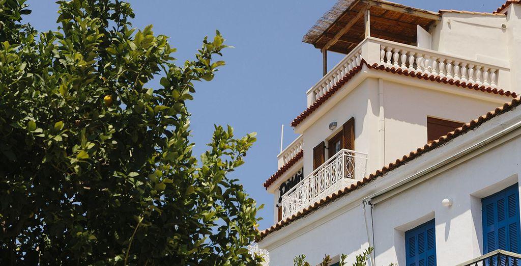 Bienvenue à l'hôtel Dimitra Poros