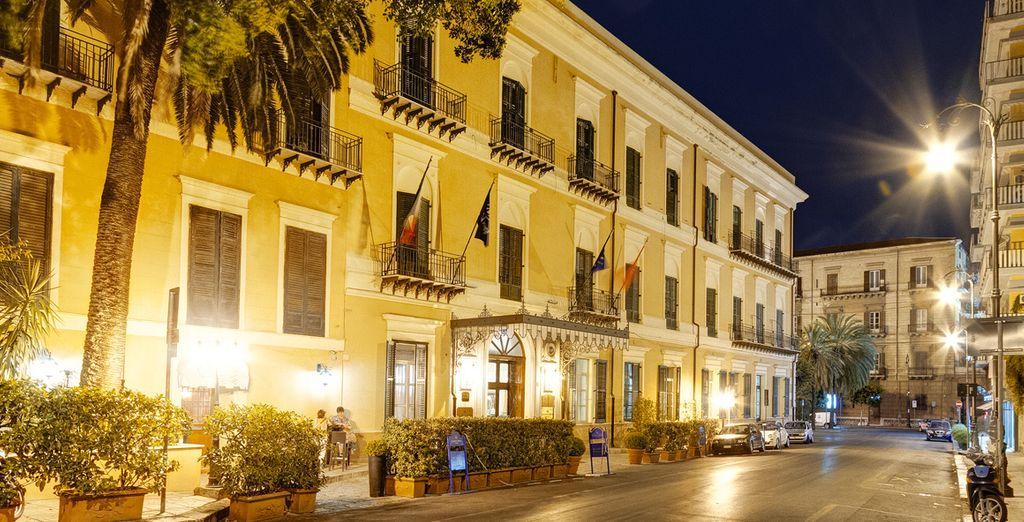 Situé dans la vieille ville de Palerme