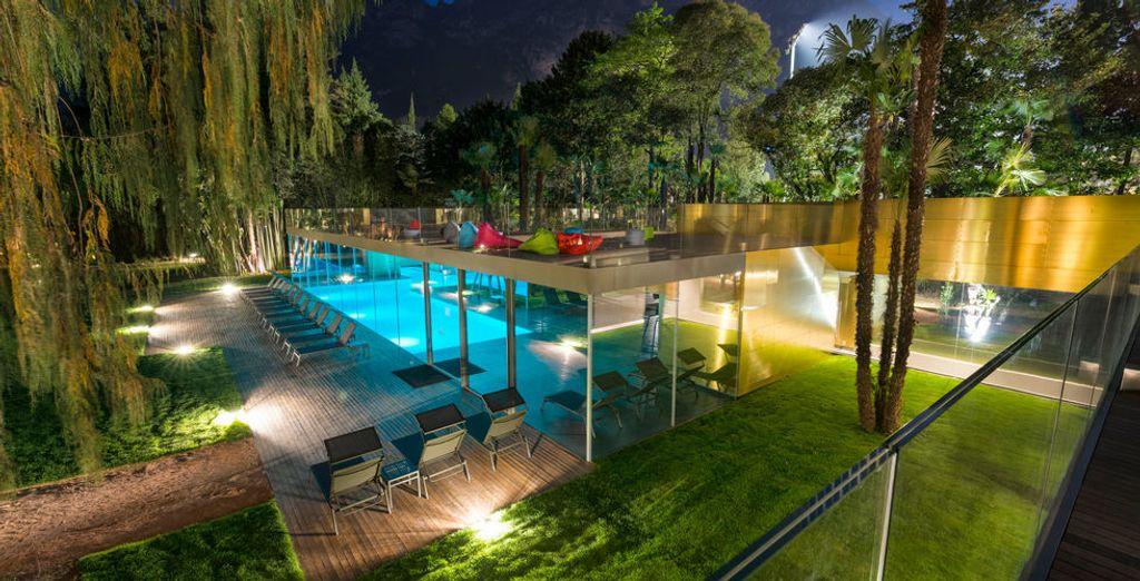 Au sein d'un bel établissement : Du Lac & Du Parc Grand Resort 4*