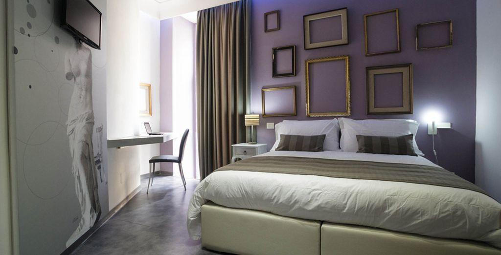 Installez-vous dans votre chambre Supérieure avec balcon