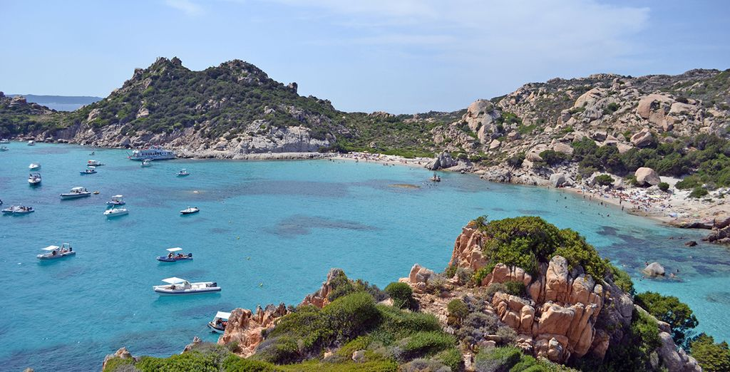 La beauté de l'île vous enchantera