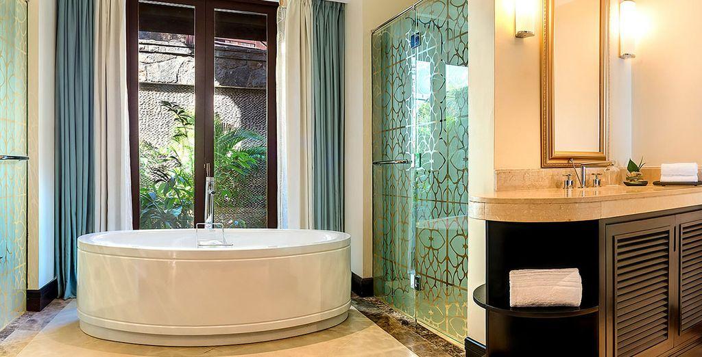 Chaque chambre est Accompagnée d'une superbe salle de bain