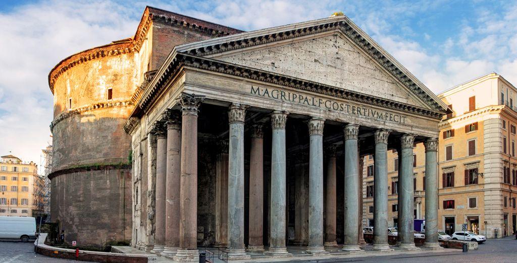 Du Panthéon...