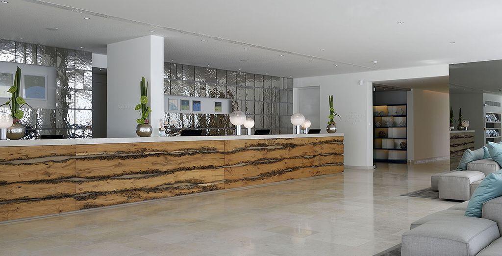 Vous vous offrirez le luxe de séjourner dans un hôtel design, raffiné et tendance...