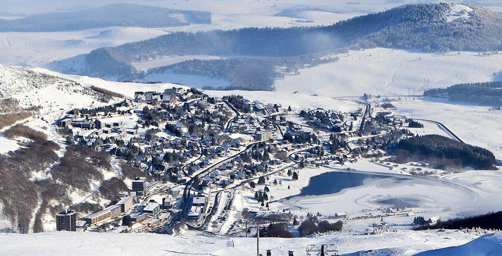 A Super Besse, une véritable station de sports d'hiver !