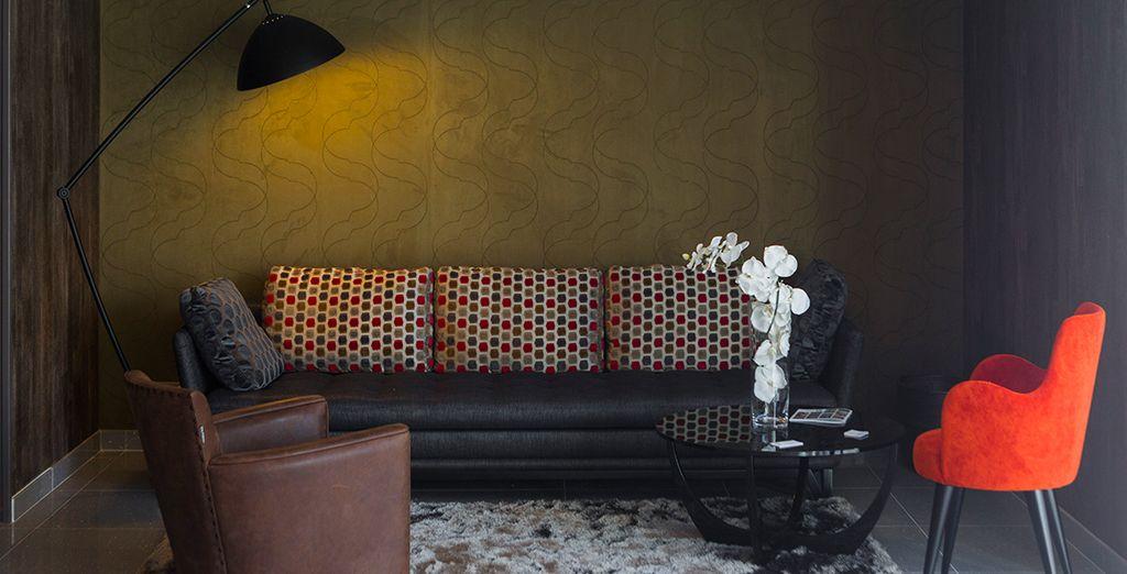 Laissez-vous tenter par l'atmosphère cosy de cet hôtel plein de charme