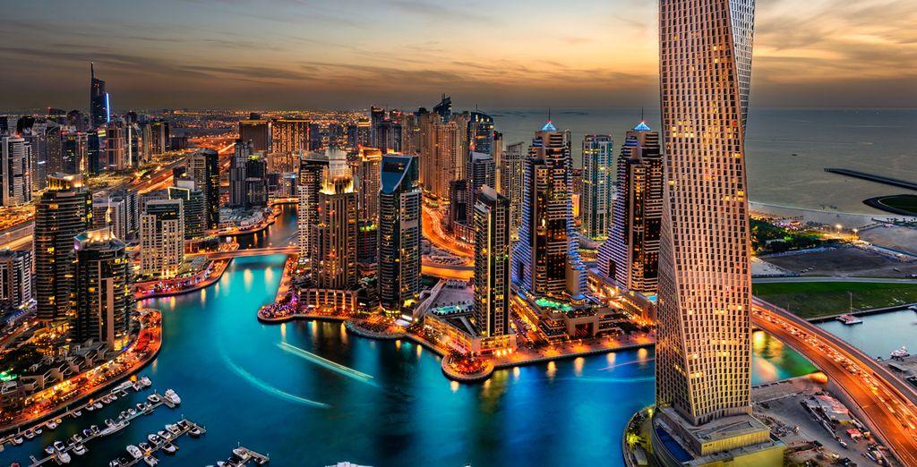 Parfait pour visiter l'incroyable et intrigante ville de Dubai