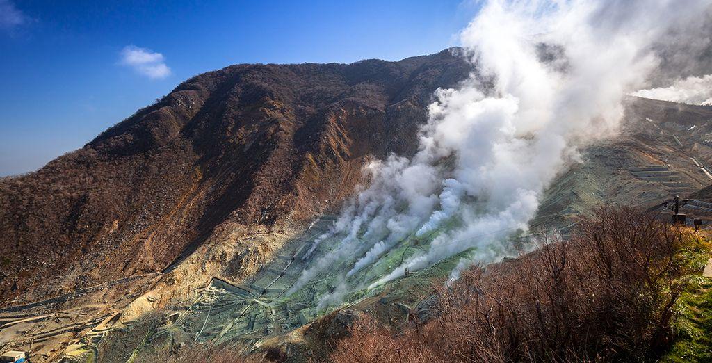 Vous apprécierez ce territoire volcanique avant de prendre la direction de...
