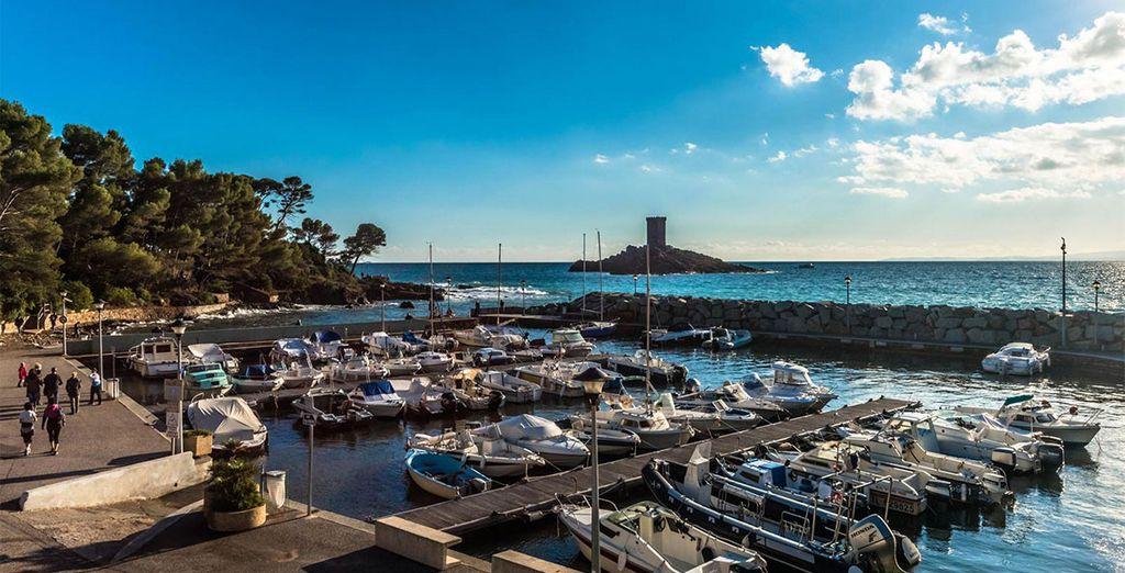 Et port, Saint Raphaël vous charmera