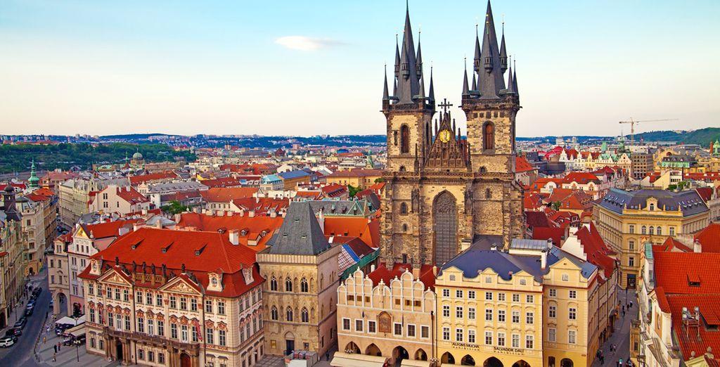 Partez découvrir les splendeurs de Prague