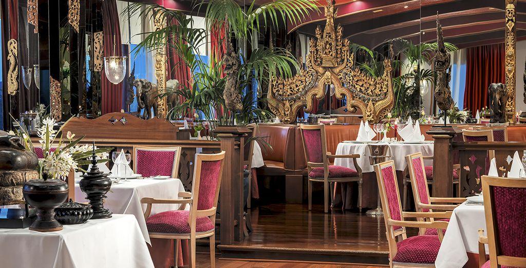 Comme le restaurant Oriental