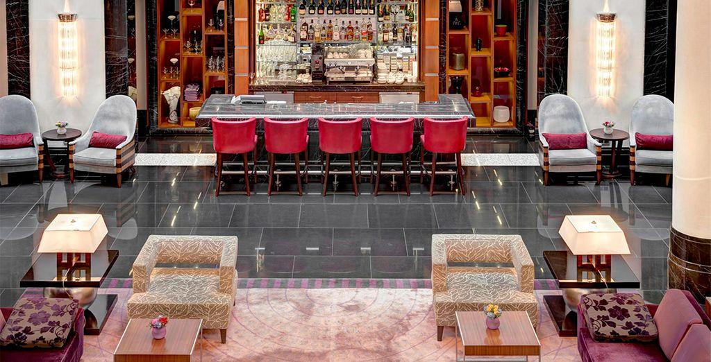 Ou encore siroter un verre au lobby bar...