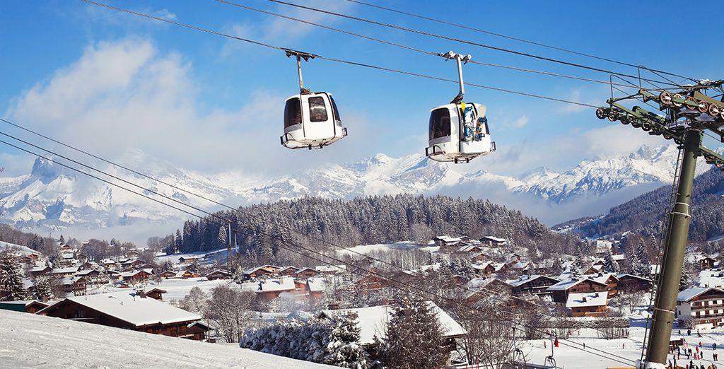 En plein cœur de la vallée du Mont Blanc