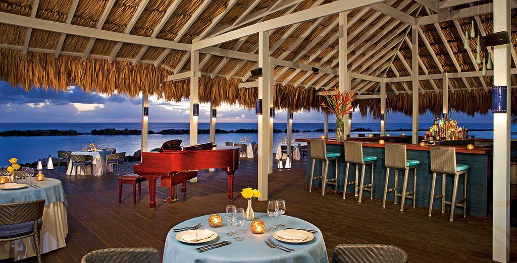 Pour profitez des nombreux restaurants gastronomiques de l'hôtel
