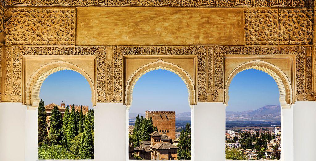 ... et la découverte du magnifique Palais de l'Alhambra