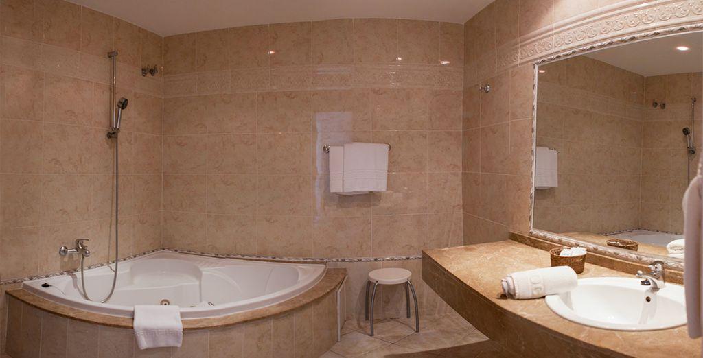Où vous apprécierez vous délasser dans un bon bain chaud