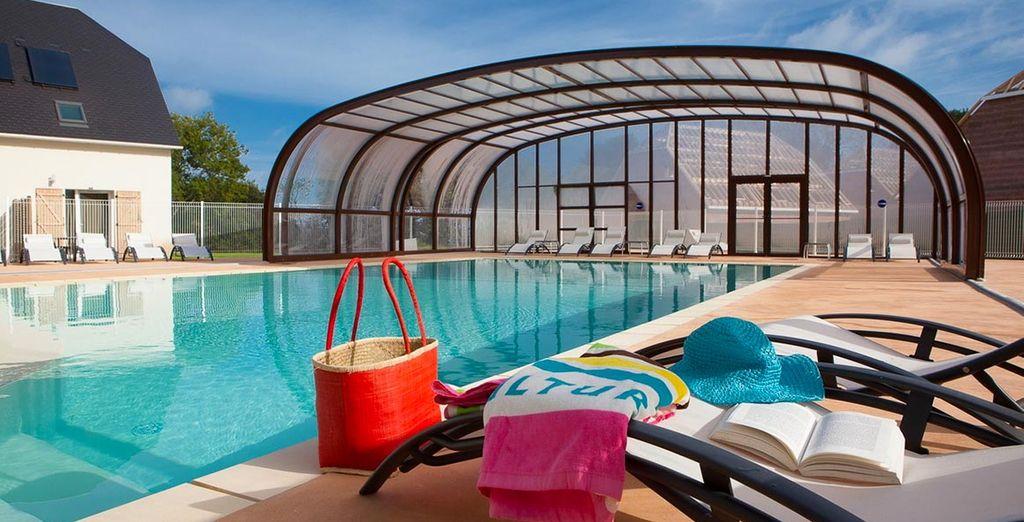 une piscine extérieure chauffée et un centre de bien-être vous offriront un confort garanti.