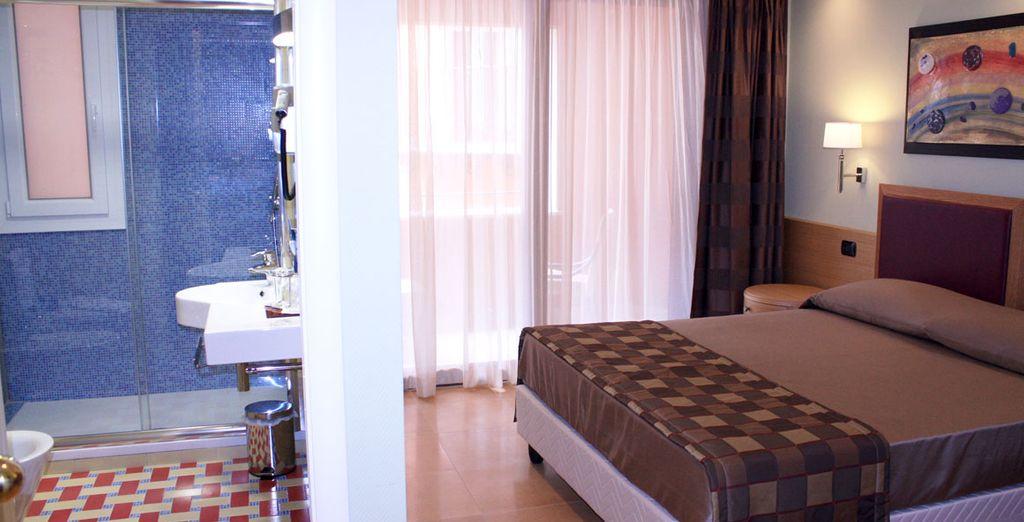 Vous séjournerez en chambre Classique, confortable et parfaitement équipée
