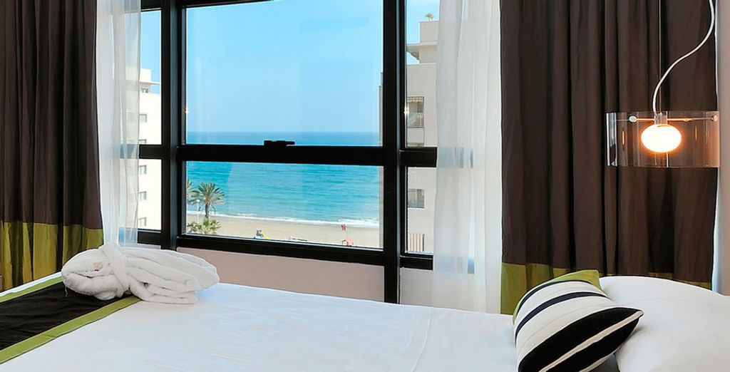 Prenez place dans une chambre avec vue sur mer