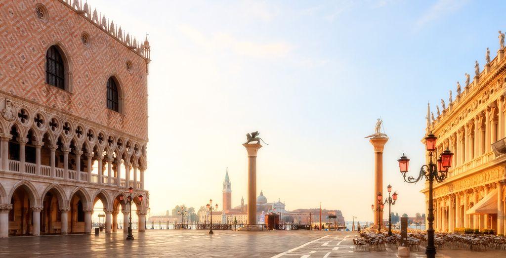Puis poussez la découverte jusqu'à Venise