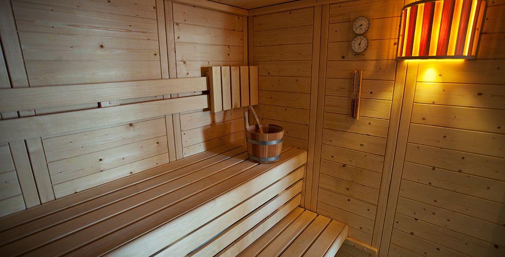 Détendez-vous au sauna...