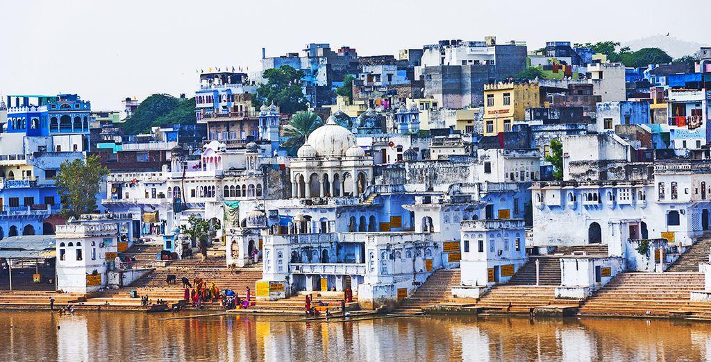 Ou encore la mythique Pushkar et son lac sacré