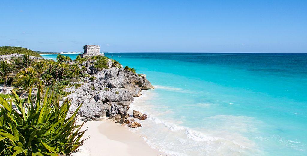 Et de plages paradisiaques... Le Yucatan regorge de splendeurs