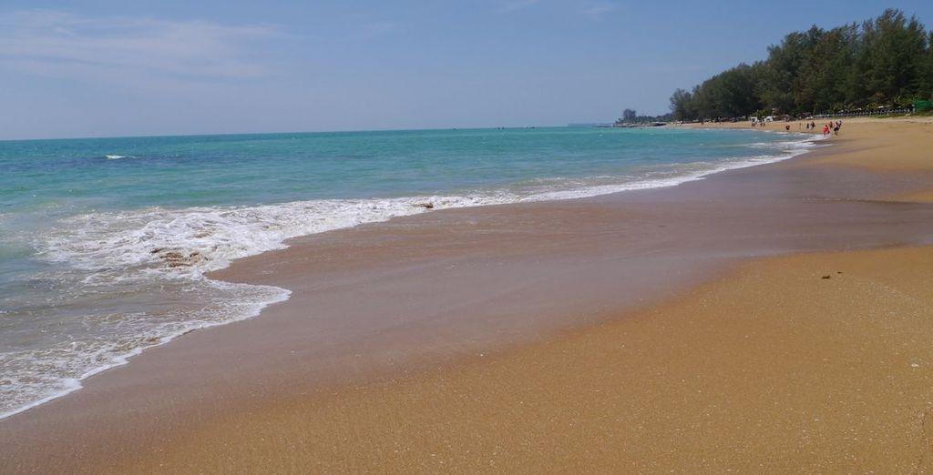 Au bord de la mer d'Andaman
