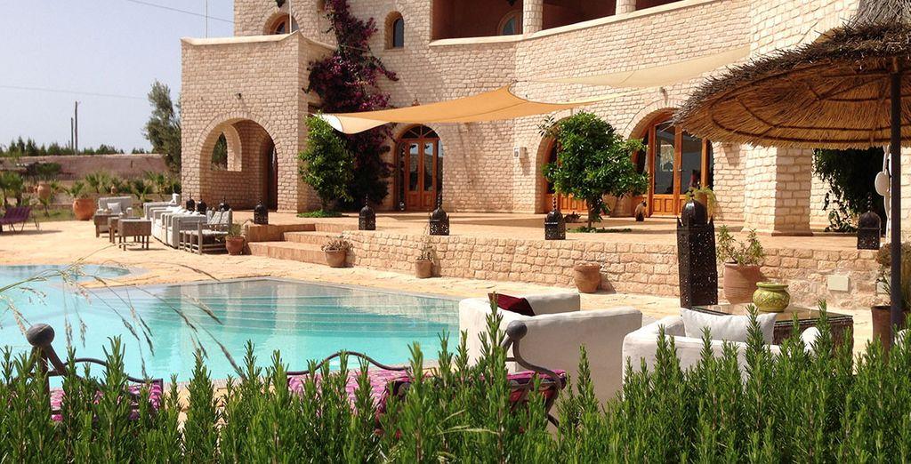 Un boutique hôtel de charme dans les collines de Thuya à Essaouira