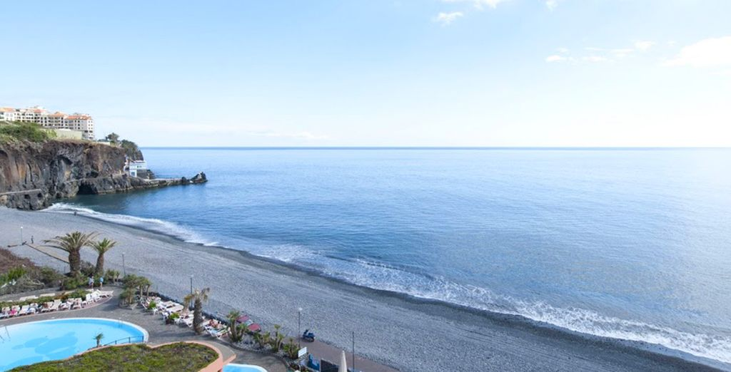 Vous vous enchanterez chaque jour d'une vue sur l'océan Atlantique...