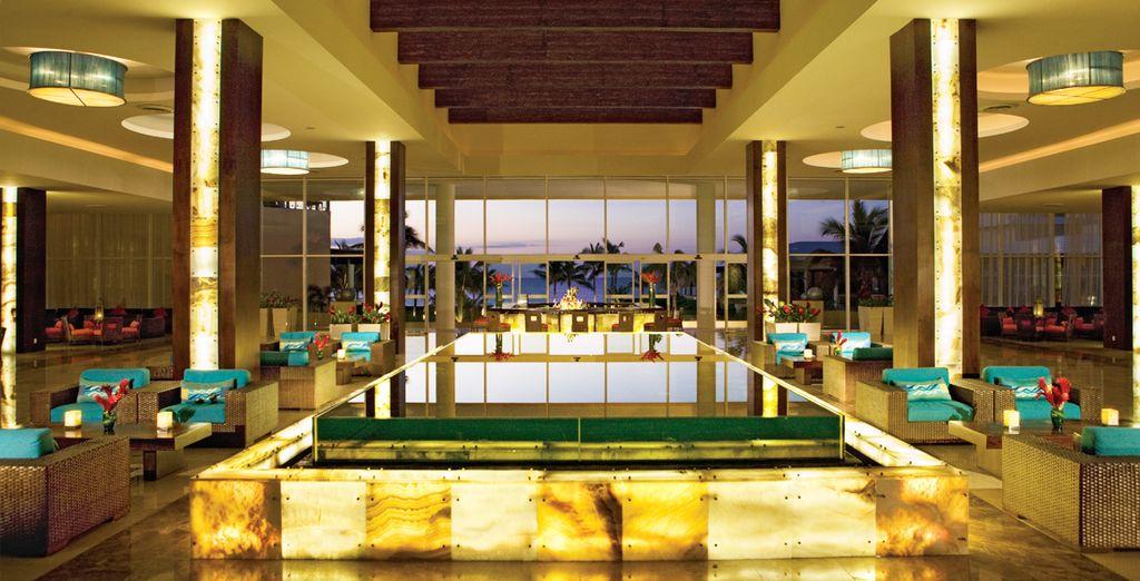 Et appréciez le luxe éclatant de l'hôtel Now Jade Riviera Cancun 5*