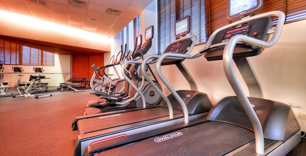 Ou venez décompresser dans la salle de fitness...
