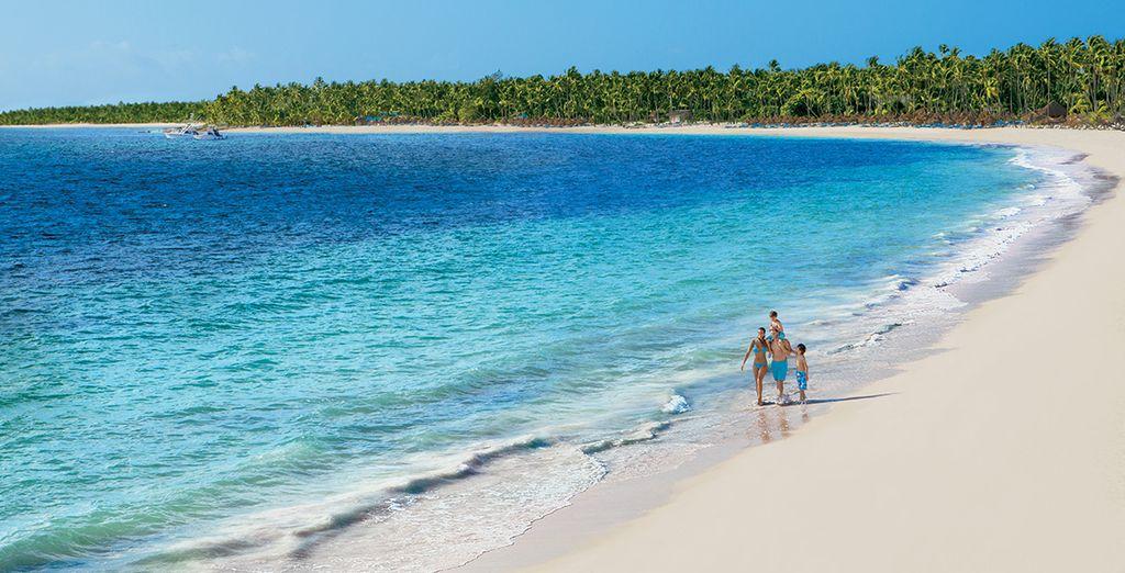Niché sur la superbe plage de Playa Bavaro