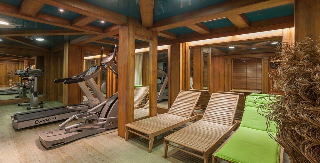 Et profitez d'installations modernes pour garder la forme, même en vacances !