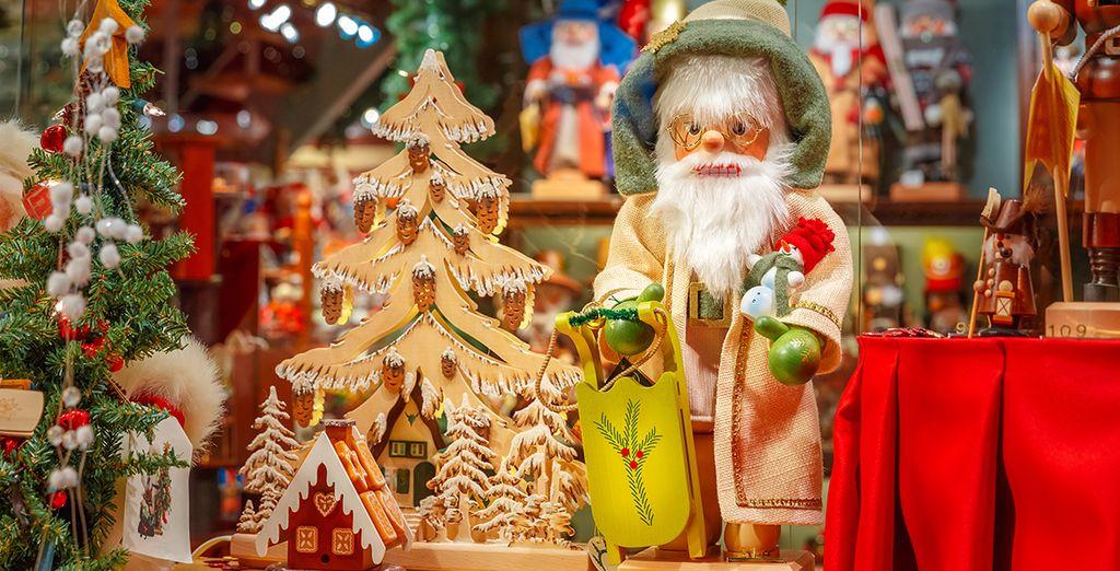Du 25 novembre 2017 au 2 janvier 2018, vous pourrez même profiter de la magie des marchés de Noël