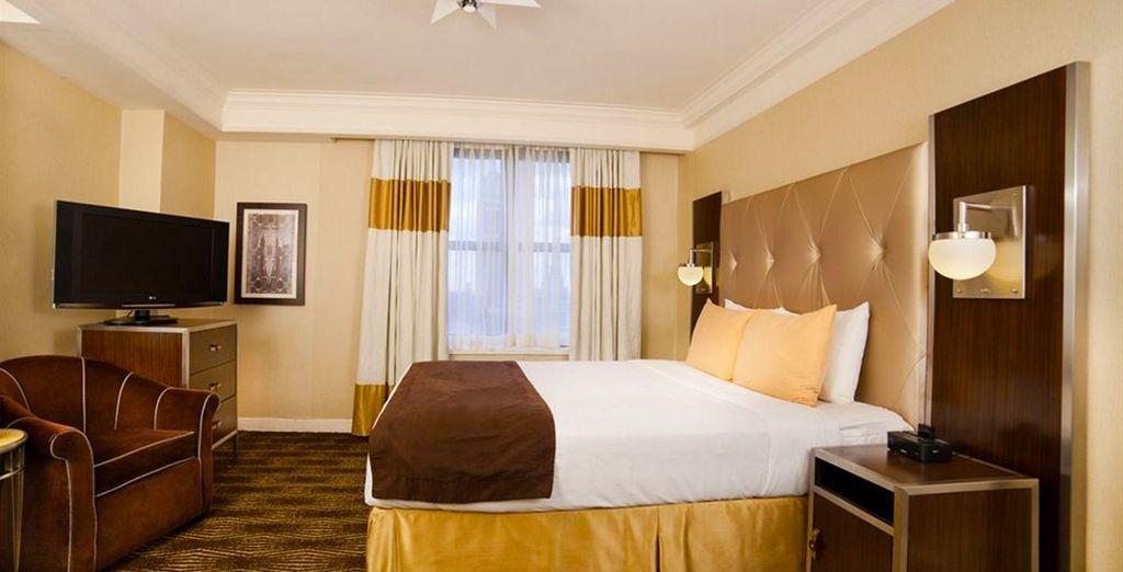 Hôtel haut de gamme, totu confort, sélectionné par Voyage Privé