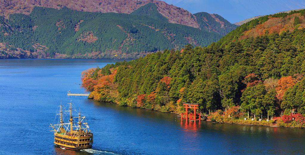 Puis vous découvrirez Hakone, repère des Tokyoïtes en mal de paysages naturels