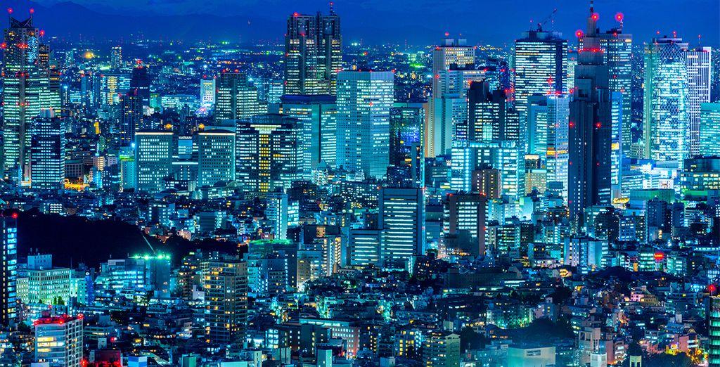 Au départ de Tokyo...