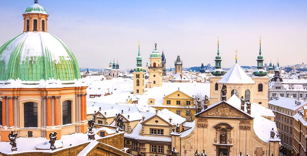 Vous passerez un excellent séjour à Prague