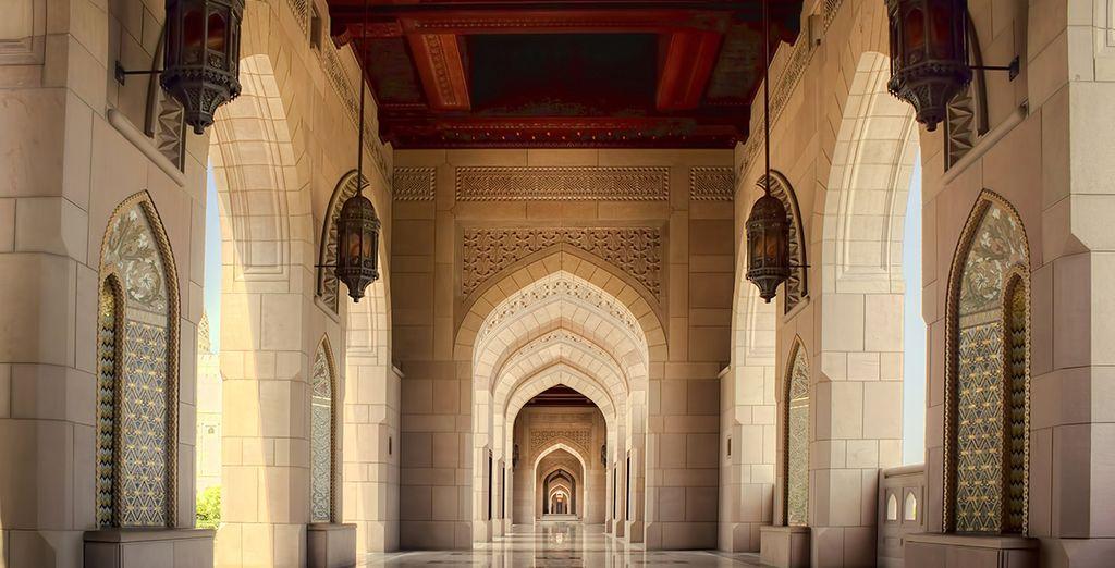 Où monuments d'une grande beauté et mosquées éternelles vous attendent
