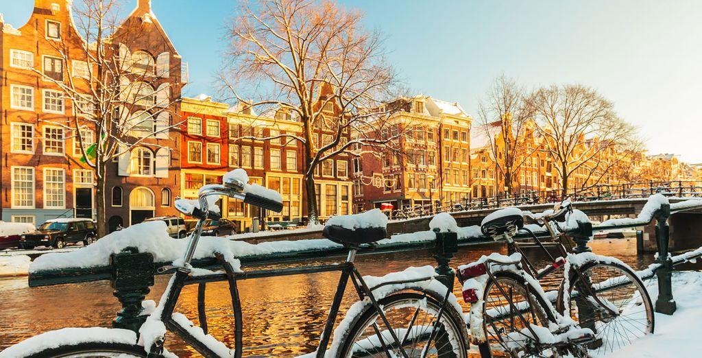 Une ville à la fois romantique et curieuse