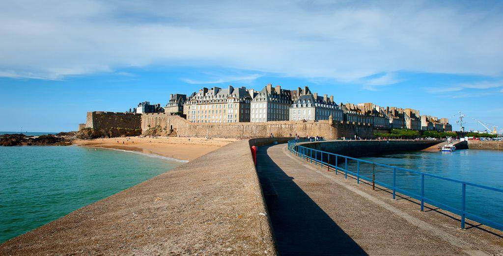Et d'une situation idéale pour visiter Saint Malo