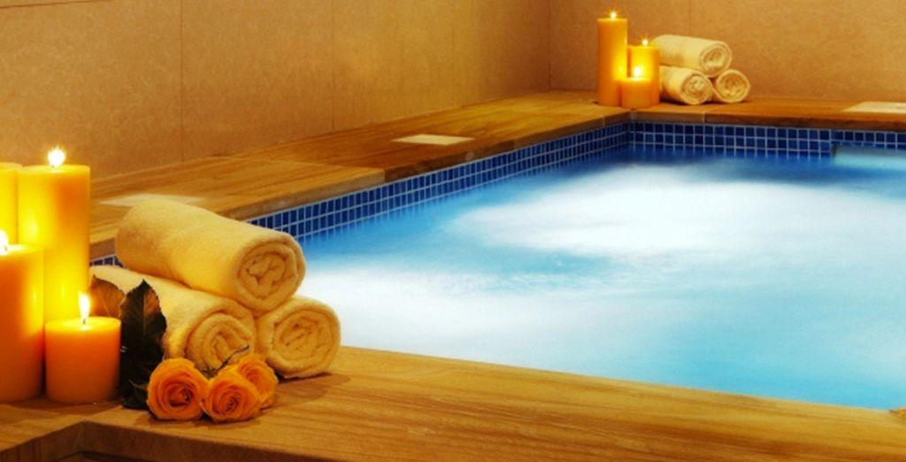 Après une journée riche en découvertes, relaxez-vous au Spa...