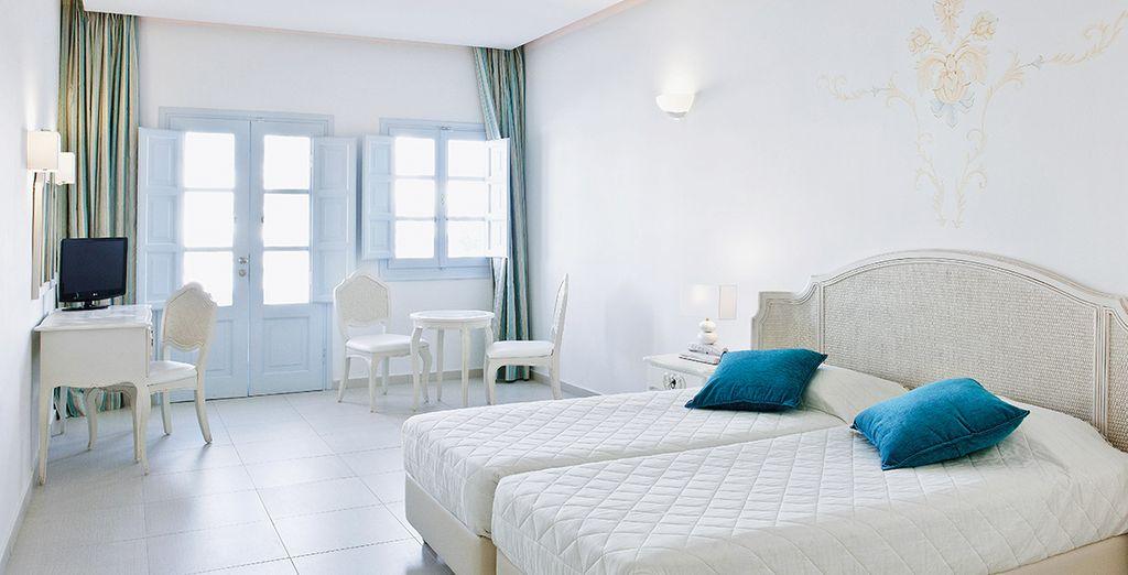 Jusque dans votre confortable chambre Standard