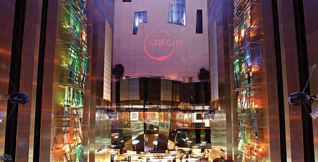 Au coeur du Fairmont Dubaï Downtown...