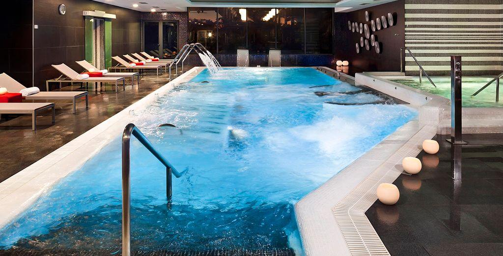 L'hôtel abrite un spa pour vos moments de pure relaxation
