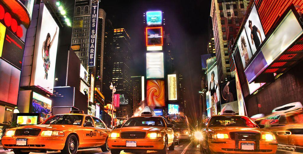 Plongez dans le centre de New York !